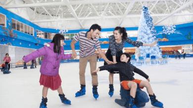 Sân trượt băng (Ảnh ST)